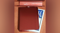 The Porper Card Clip (Red) Flat-Spine by Joe Porper - Trick
