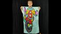 Character Silk (Clown) 35 X 43  by JL Magic - Trick