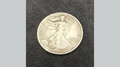 POWER COIN (Walking Liberty) by Himitsu Magic - Trick