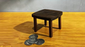 Mini Wood Table by JL Magic - Trick