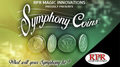 Symphony Coins (US Kennedy) Gimmicks and Online Instructions by RPR Magic Innovations - Trick