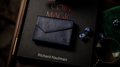 Luxury Leather Playing Card Carrier (Blue) by TCC - Trick