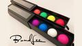Perfect Manipulation Balls (1.7 Multi color; Blue Purple White Pink) by Bond Lee - Trick