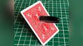 Sharpie Thru Card (Bicycle Red) by The Hanrahan Gaff Company