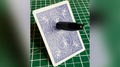 Sharpie Thru Card (Bicycle Blue) by The Hanrahan Gaff Company