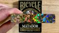Bicycle Matador (Black Gilded) Playing Cards