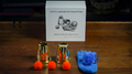 Tommy Wonder Cups & Balls Set (Brass) by Raphael and Bluether Magic- Trick