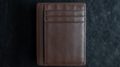 Limited Edition Shadow Wallet Bourbon Tan Leather (Gimmick and Online Instructions) by Dee Christopher and 1914 - Trick