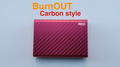 BURNOUT 2.0 CARBON RED by Victor Voitko (Gimmick and Online Instructions) - Trick