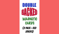Magnetic Cards (2 pack/Red Jokers) by Chazpro Magic. - Trick