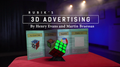 Rubik's Cube 3D Advertising (Gimmicks and Online Instructions) by Henry Evans and Martin Braessas - Trick