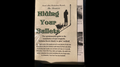 Hiding Your Bullets - installing Rope Magnets by David Alan Magic - Book