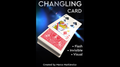 CHANGLING CARD BLUE by Marco Markiewicz - Trick