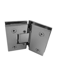 SHA333EDCP Adjustable 135º Glass-to-Glass (Chrome Polish)
