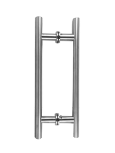 """LHS8X8CMBN Ladder Handle 8""""X8"""" in Brushed Nickel Finish"""
