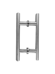 """LHS6X6CMCP Ladder Handle 6""""x6"""" in Chrome Polished Finish"""