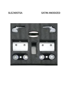 SLEZ40STSA Satin Anodized