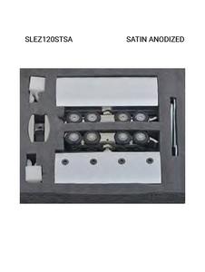 SLEZ120STSA Satin Anodized