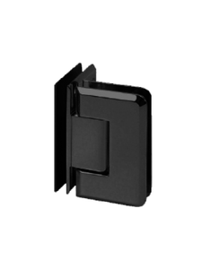 SHPAGG90MBL Glass to Glass Hinge 90 Degree in Matte Black Finish