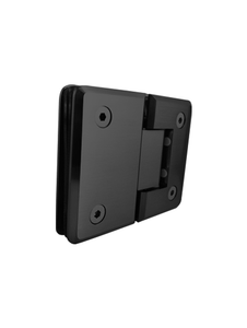 SHPAGG180MBL 180 Degree Glass-to-Glass in Matte Black Finish