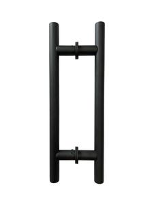 "LHS8X8CMBL Ladder Handle 8""X8"" in Matte Black Finish"