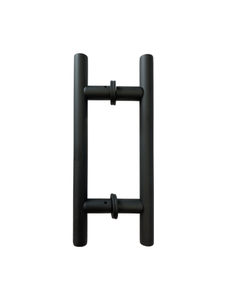 "LHS6X6CMBL Ladded handle 6""X6"" in Matte Black"