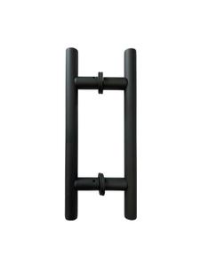 "LHS6X6CMBL Ladded handle 6""X6"" in Matte Black"
