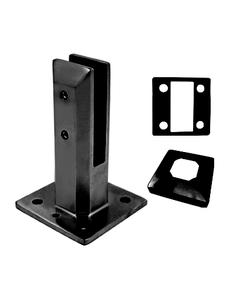 SP5SQADJFRBL Square Adjustable Friction Fit Spigots in Matte Black Finish