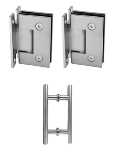 H Plate hinges & Ladder handle