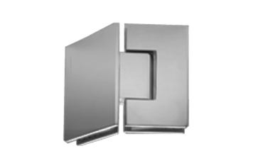 SHG333EDBN 135 Degree Glass-to-Glass Hinge (Brushed Nickel)