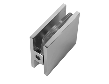GC111EDCP Wall to Glass Connector