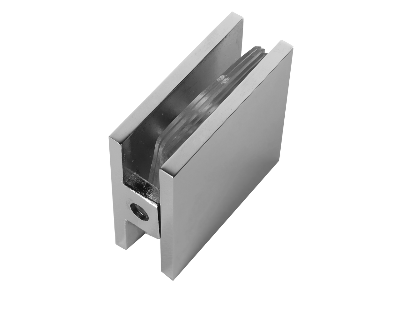 GC111EDBN Wall to Glass Connector