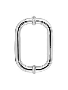H6X6CMCP Round Glass Door Handle