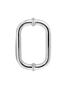 H6X6CMBN Round Glass Door Handle