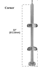 "PR432CBS - 32"" HIGH X 32"" (CORNER)"