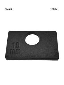 GR719245S10 RUBBER SM SQ 10MM