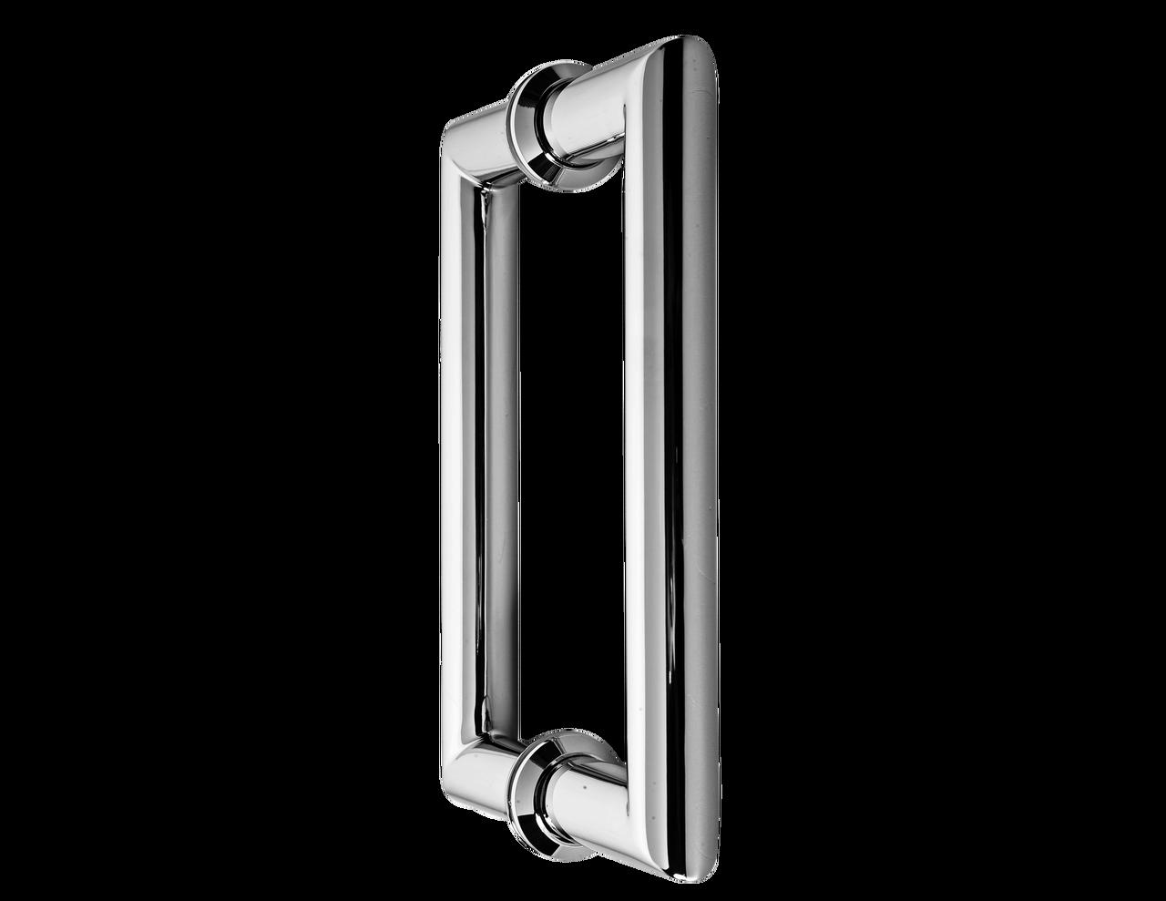 H6x6mtbn Mitered Glass Door Handle Tag Railing Inc