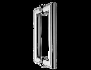 H6X6MTCP Mitered Glass Door Handle