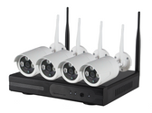 4 Channel Wireless NVR Kits w/ 2 Megapixel Cameras