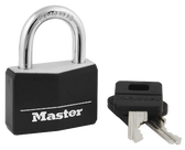 Master Lock 141 Wide Covered Solid Body Padlock