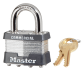 Master Lock No.1 Steel-Body Padlock