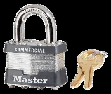 Master Lock No.1 Steel-Body Padlock