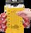 503YLW - Dual Application Lock Box - Yellow (locks not included)