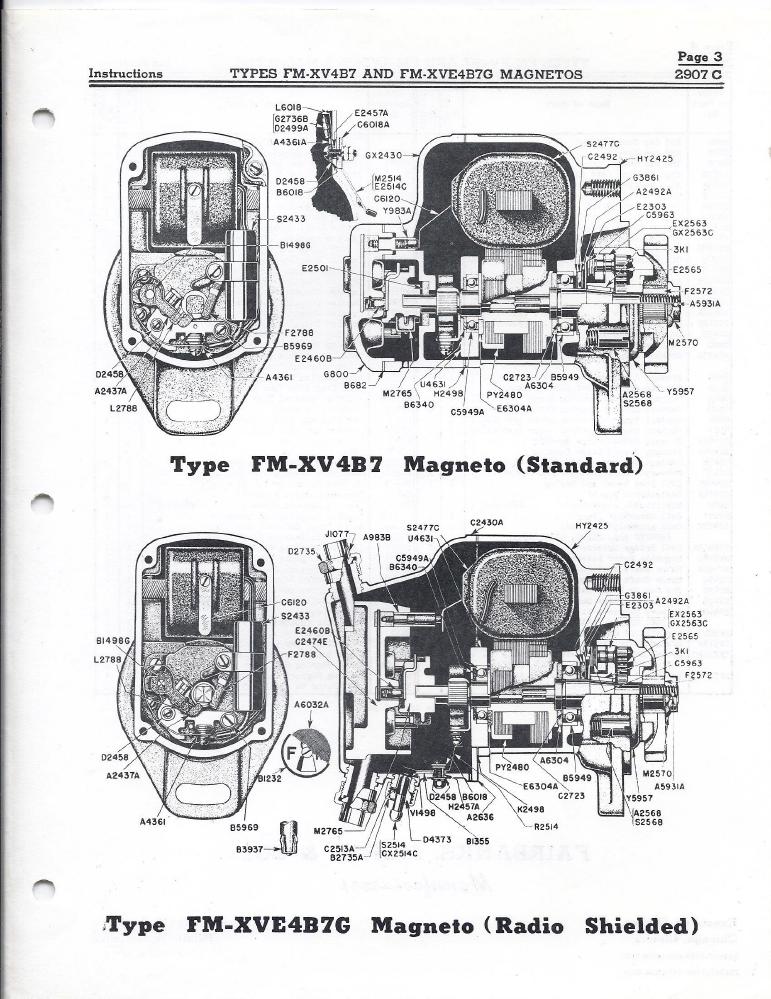 hei distributor parts list diagram