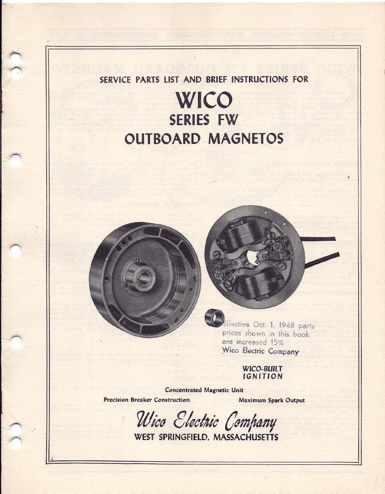 Wico a Magneto Manual