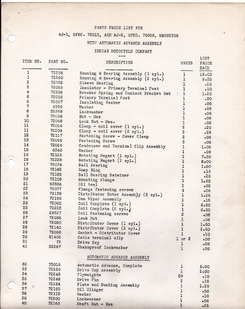 1946 Indian Chief Wiring Diagram Libraries