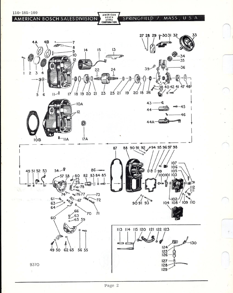 bosch parts manual auto electrical wiring diagram