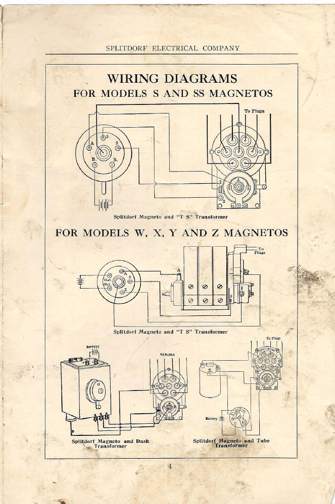 magneto rx splitdorf splitdorf wiring diagrams 1914 silver rh oldcroak com tecumseh magneto wiring diagram tecumseh magneto wiring diagram