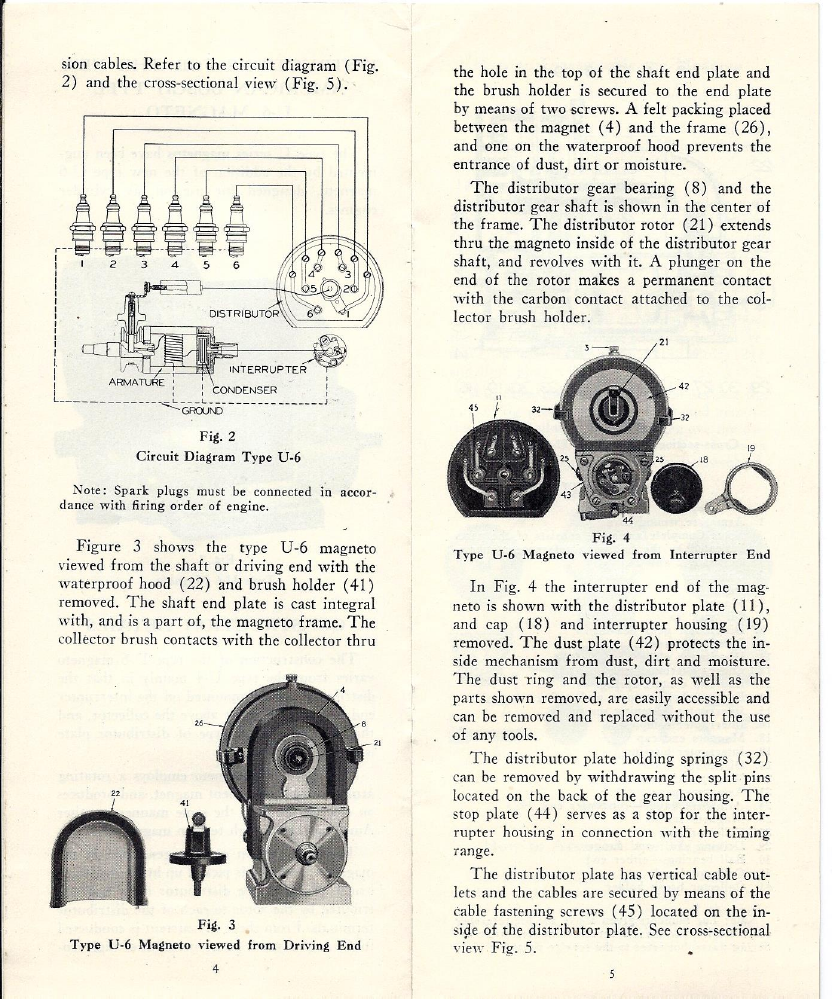 american bosch u6 magneto instruction manual rh oldcroak com Bose Speaker Manuals U6 U