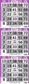 Small Plus Four Corners Bingo Paper by the Bundle